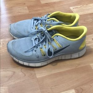 Nike shoes. Worn. In decent condition